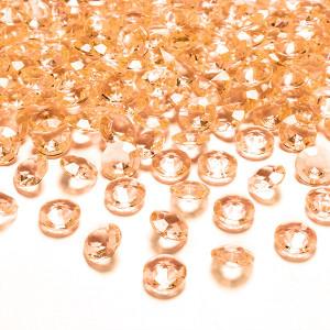 Diamantkonfetti Orange - PartyDeco