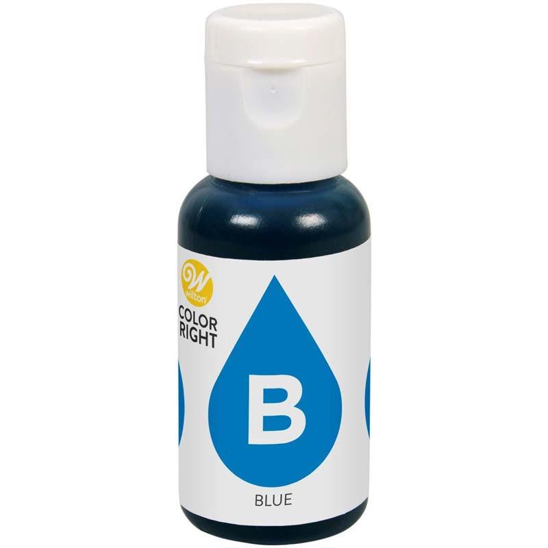 Wilton Color Right Livsmedelsfärg refill, Blue