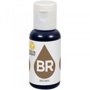 Wilton Color Right Livsmedelsfärg refill, Brown