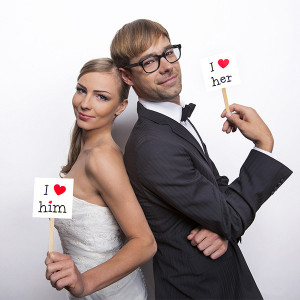 Fotoprops I Love - PartyDeco