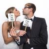 Fotoprops Mr & Mrs - PartyDeco