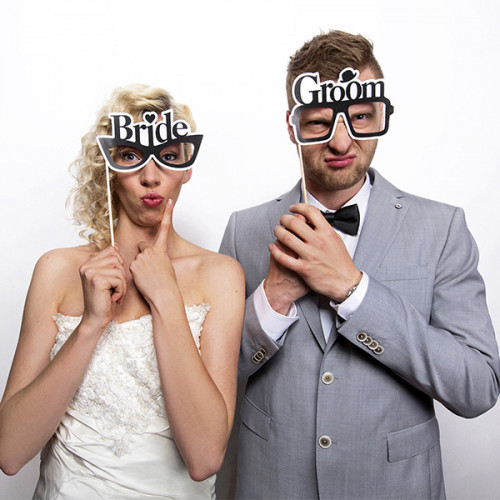 Fotoprops Bride and Groom - PartyDeco