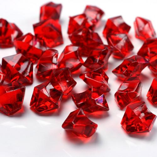Iskristaller Röda - PartyDeco