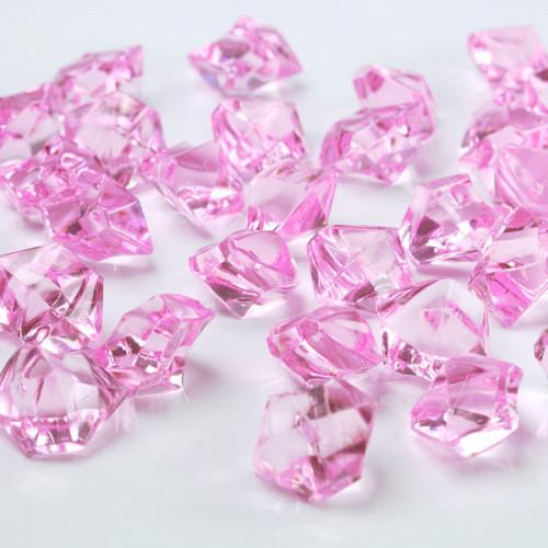 Iskristaller Rosa - PartyDeco