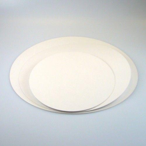 FunCakes Vita Tårtbrickor 22 cm, 250-pack