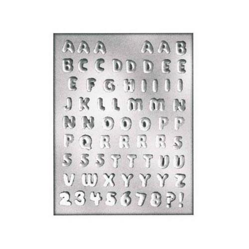 Silikonform Alfabet - Silikomart
