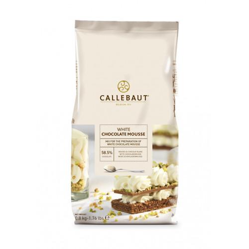 Callebaut Vit Chokladmousse Mix
