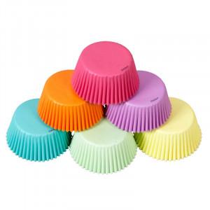 Muffinsform Regnbågspastell 150 st - Wilton