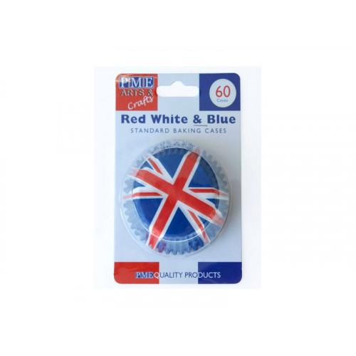 Muffinsform Red White & Blue - PME