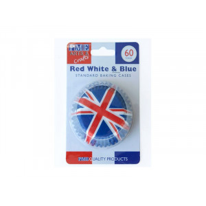 Muffinsform Red White & Blue - PME
