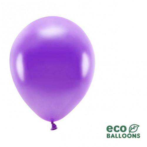 Ekologiska ballonger, metallic lila