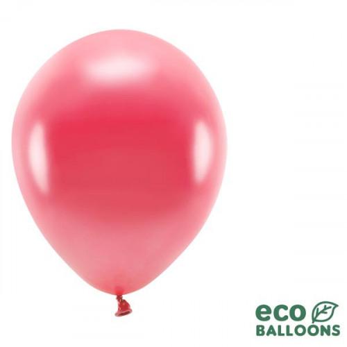 Ekologiska ballonger, Metallic ljusröd