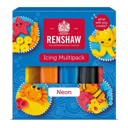 Renshaw Sockerpasta Neons, Multipack