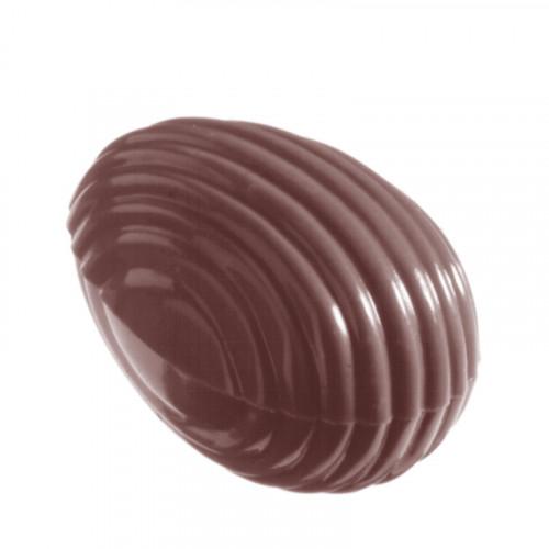 Chocolate World Pralinform Randigt Ägg