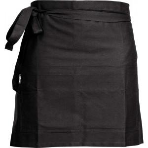 Svart kort midjeförkläde