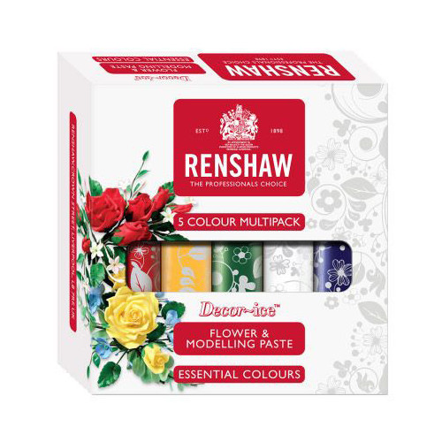 Flowerpaste Multipack Grundfärger