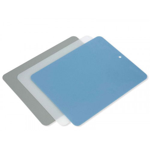 Flexibla skärbrädor i plast, 3 st - Funktion