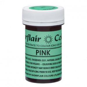 Rosa Pastafärg NatraDi - Sugarflair