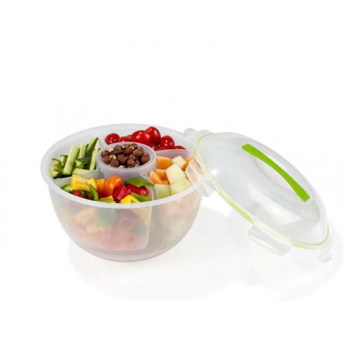 Frukt och salladsskål med insats