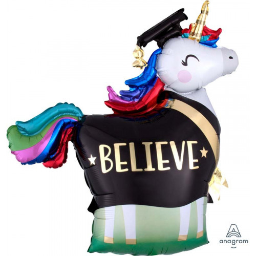 Folieballong Unicorn Belive