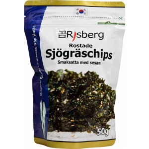 Sjögräschips Sesam 50 g