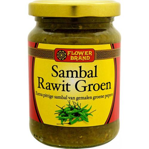 Sambal Rawit Grön, Stark 200 g