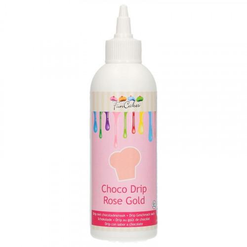 Choco Drip Rose Gold - FunCakes