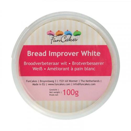 Brödförbättrare, bread improver, Vit - FunCakes