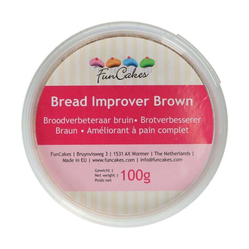 Brödförbättrare, bread improver, Brun - FunCakes