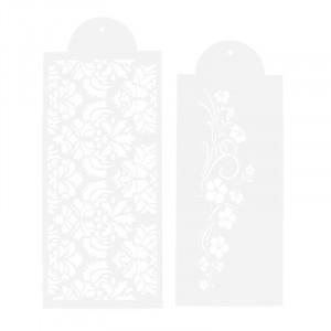 Stenciler Blommor 2 delar