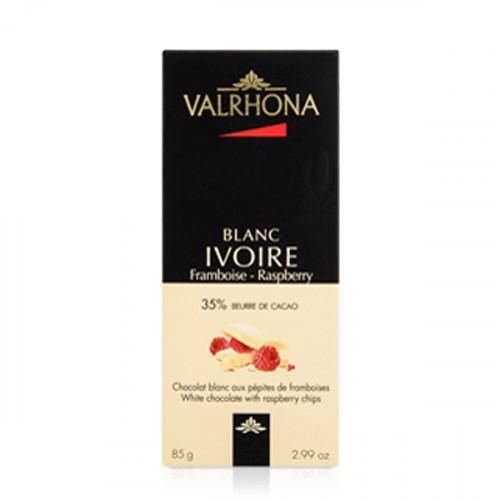 Chokladkaka Ivoire Raspberry - Valrhona