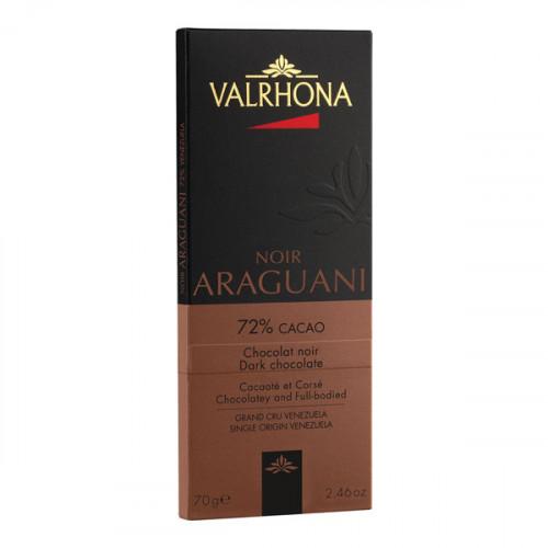 Chokladkaka Araguani Mörk, 70g - Valrhona