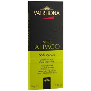 Chokladkaka Alpaco 66%, 70 g - Valrhona