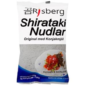 Shirataki Nudlar, 200g - Risberg