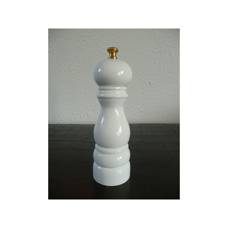 Saltkvarn 18 cm, vit högglans - Lidrewa
