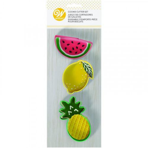 Utstickare Ananas, Vattenmelon, Citron - Wilton