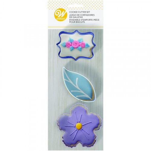 Utstickare Blommor - Wilton