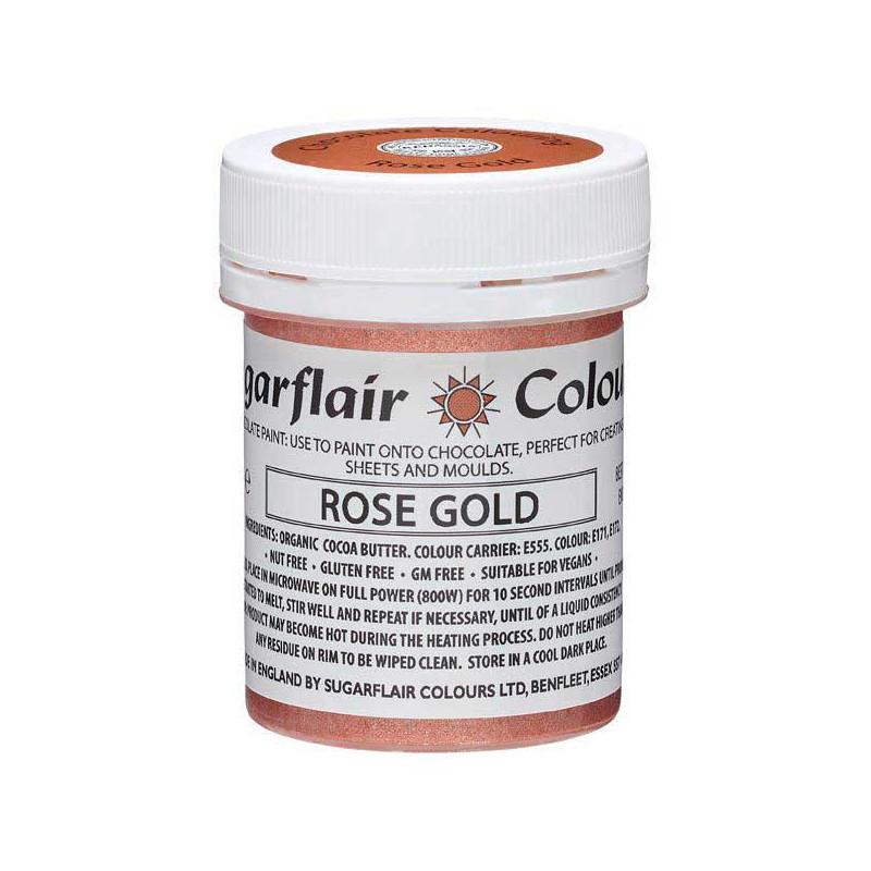 Chokladfärg Roséguld - Sugarflair