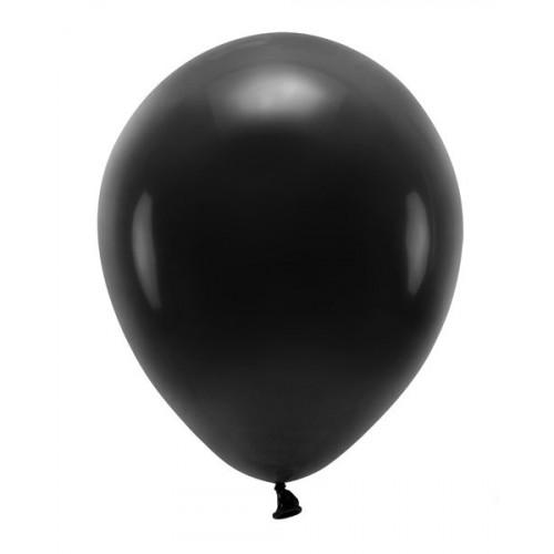 Eko Ballonger, Svarta 10-pack, 26 cm