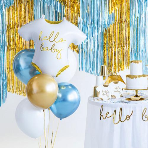 Folieballong Baby romper Hello Baby - PartyDeco