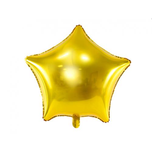Folieballong Stjärna Roséguld - PartyDeco