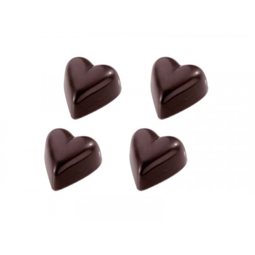 Pralinform Hjärta - Chocolate World