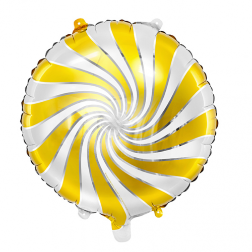 Folieballong Godis Guld - PartyDeco