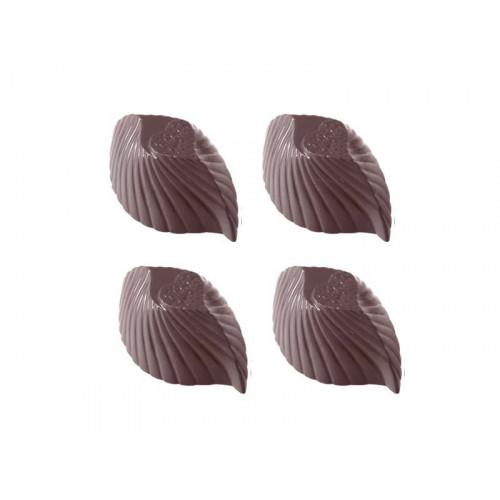 Pralinform Randigt Hjärta - Chocolate World
