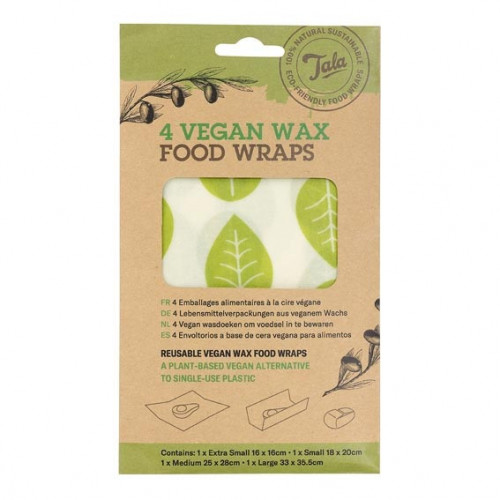 Tala Vegan Wraps 4-pack