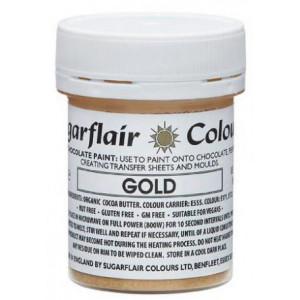 Chokladfärg Guld - Sugarflair