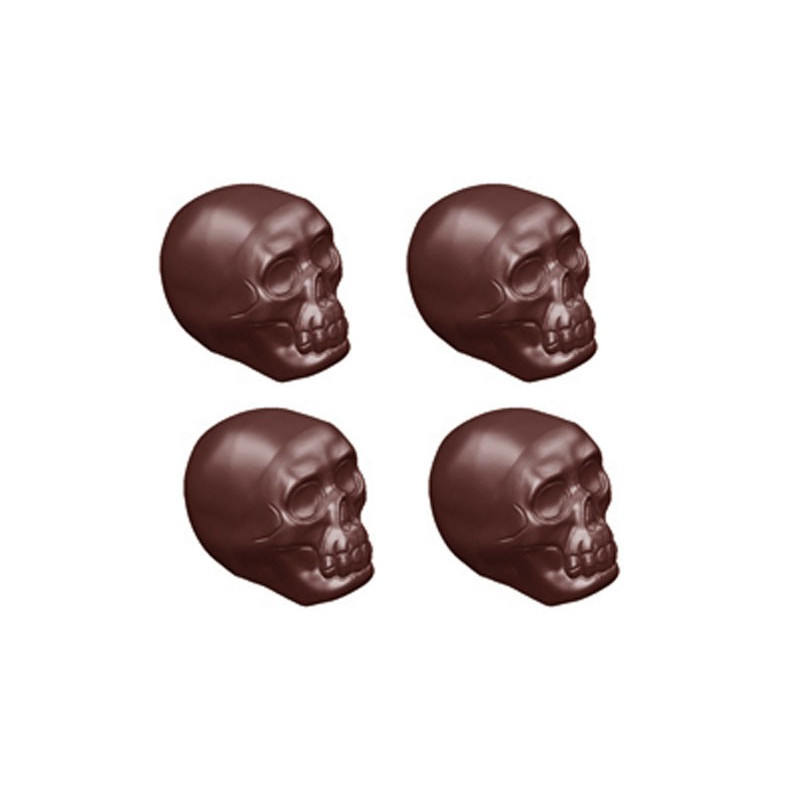 Pralinform Dödskalle - Chocolate World