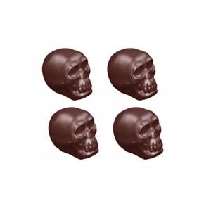 Chocolate World Pralinform Dödskalle