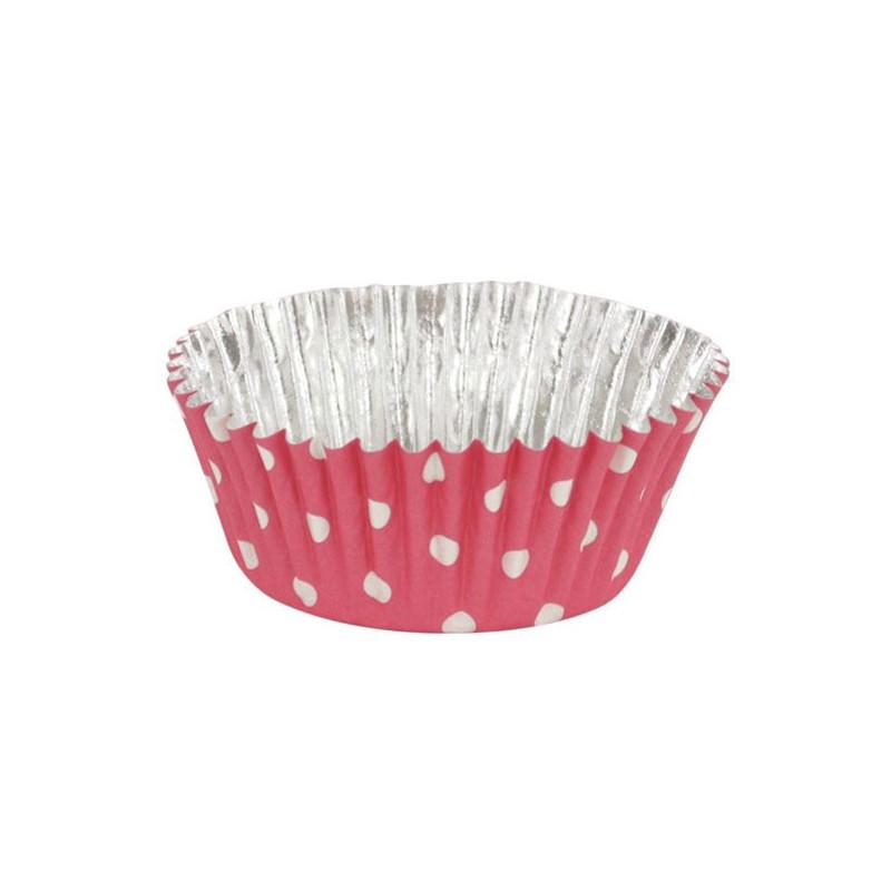 PME - Muffinsform Pink Polka Dot
