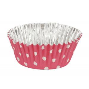 Muffinsform Pink Polka Dot - PME